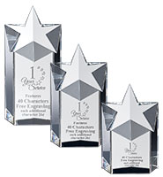 Super Nova Crystal Award