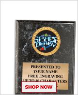 Space Derby® Plaques