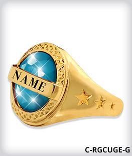 Custom Genteel Ring Top