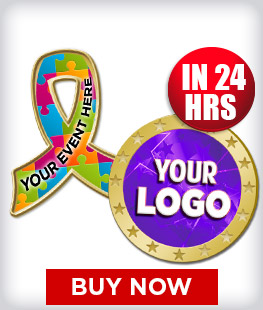 Custom Insert Corporate Pins