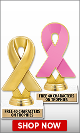 Breast Cancer Awareness Trophies