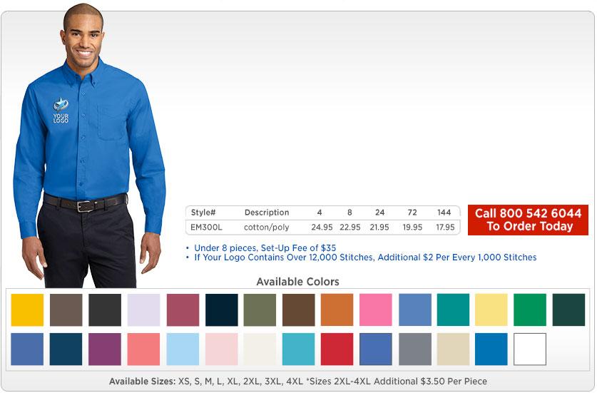 Men's Long Sleeve Dress Shirts