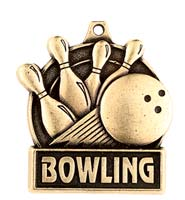 "1 3/4"" Bowling Medals"