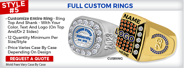 Full Custom Rings