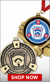 Little League Baseball Medals