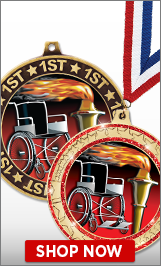 Wheelchair Medals