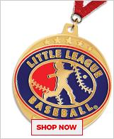 Little League Baseball Medals