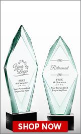 Retirement Crystal Awards