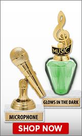 Microphone Trophies