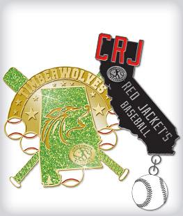 Custom Specialty Little League Pins