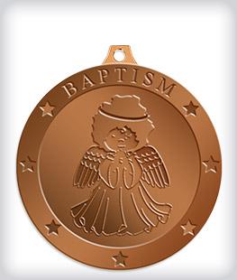 Antique Bronze Custom Religious Medals
