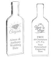 Wine Bottle Acrylic