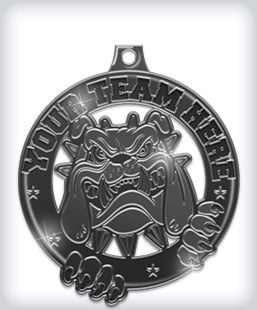 Black Nickel Custom Medals