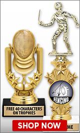 Fencing Trophies
