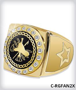 Custom Round Champion 2.0 Ring Top With Stones