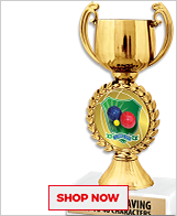 Bocce Trophies