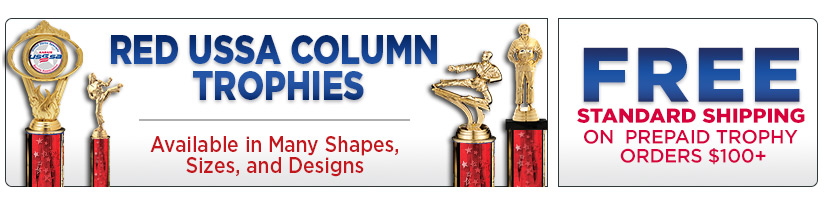 USSSA Red Column Trophies