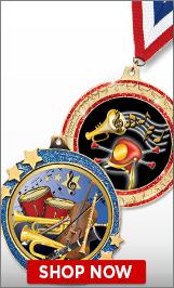Drill Team Majorette Medals