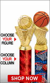 Basketball Trophies | Basketball Medals | Basketball Plaques