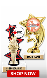 American Heart Association Trophies