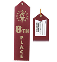 8th Place Award Ribbon