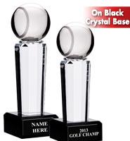 Onyx Crystal Tennis Pedestal