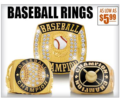 Baseball Champion Rings