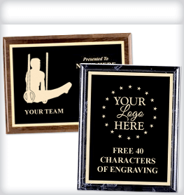 Logo Engraved Plaques