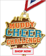 Mud Run Custom Medals