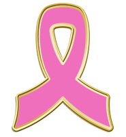 Pink Awareness Insert Ribbon Pin