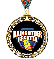 Laurel Wreath Raingutter Regatta® Insert Medal