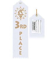 3rd Place Award Ribbon