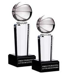 Onyx Pedestal Basketball Awards
