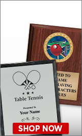 Ping Pong Plaques