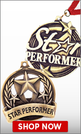 Star Performer Medals