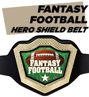 Hero Shield Fantasy Football Belt
