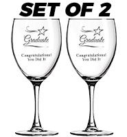 Set Of 2 Goblets 10.5oz