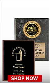 Public Speaking Plaques