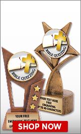 Bible Quizzing Sculptures