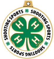 "2"" 4-H Shooting Sports Rimz Medal"