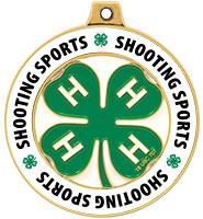 "2"" 4-H Shooting Sports Rimz Medal"