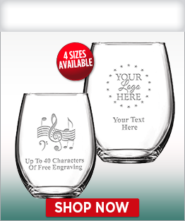 Soiree Stemless Wine Glasses