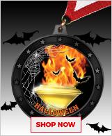 Halloween Medals