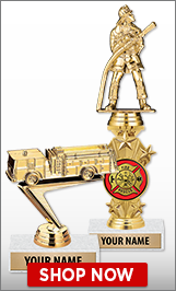 Fire Engine Trophies
