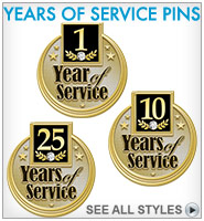 Years Service Pins