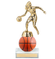 "7"" Xtreme Basketball Trophy"