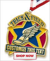 Track & Field Custom Medals
