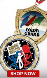 Color Guard Medals