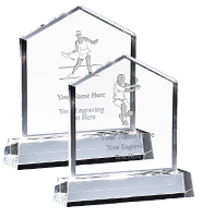 Home Plate Crystal Awards