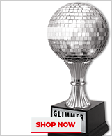 Ballroom Dance Glimmer Ball Trophies